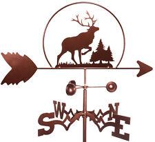 Elk Wildlife Weathervane (Roof Mounting Included)