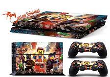 PS4 Consola & Set de pegatinas para mandos LEGO MARVEL SUPER HEROES GB