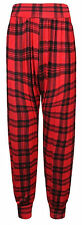 Ladies Plus Size Printed Harem Pants Cuffed Bottom Womens Ali Baba Trousers 8-26
