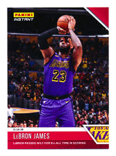 2018-19 PANINI INSTANT #36 LEBRON JAMES PASSES WILT 5TH ALL-TIME SCORING SP/210!