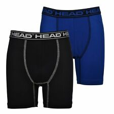 HEAD Boys' Boxer Briefs 4 Pack Performance Dri Fusion Tech Compression