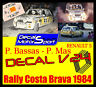 Decal/calca 1/24 Renault 5 Alpine P. Bassas - P. Mas Rally Costa Brava 1984