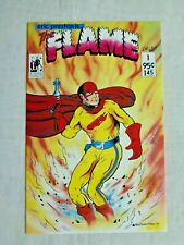 Eric Preston Is The Flame No. 1 October 1987 B-Movie Comics First Print NM (9.4)