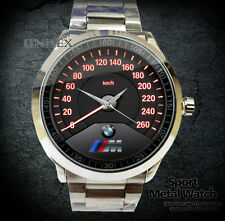 NEW HOT BMW M3 logo speedometer Sport Metal Watch