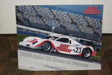 2008 Alex Job Racing Porsche Daytona Prototype Rolex 24 Grand Am postcard