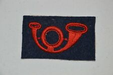 INSIGNE COR CHASSEUR-BON TIREUR-CAPOTE & VAREUSE 1914/1918-FRENCH BADGE 1°WW