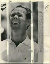 """1965 Press Photo Tony Lema competes in """"500"""" Open golf tournament, Indianapolis"""