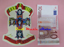 ADESIVO STICKER GUNS N ROSES 10X14 CM (*) no cd dvd lp mc vhs promo live
