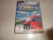 PC  Schwertransport Simulator 2011
