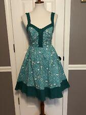 NWT Disney Hot Topic Ariel Retro Tank Dress ~ S ~ Pockets/Stretch/Lined/Cosplay