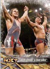 WWE  NXT   2017  TOPPS  #13   JASON  JORDAN  &    CHAD   GABLE         *WWEJUL22