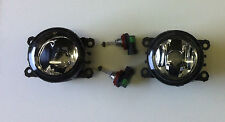 Vauxhall Astra H Mk5 VXR Front Bumper Fog Lamps inc Bulb Holder & Bulbs Pair New