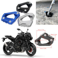 Side Kickstand Stand Extension Plate Pad For YAMAHA MT-10 FZ10 RN45 2016-2018