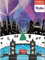 Box of 10 London Landmarks Stroke Association Fairdeal Charity Christmas Cards