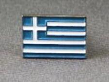 Metal Enamel Pin Badge Brooch Flag Greece Greek National Flag