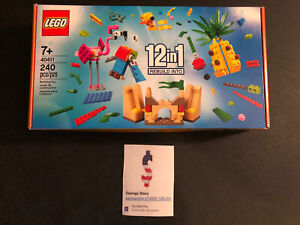 Lego 40411 Creative Fun 12 in 1 - New, Sealed