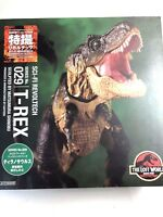 Free Shipping from Japan Authentic Revoltech Jurassic Park Tyrannosaurus T-Rex