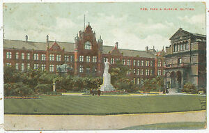 Peel Park & Museum, Salford, 1906 postcard