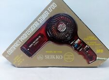 Hair Dryer Compact Professional SE 1700 by Seikko Vintage NOS