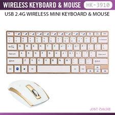 GB Gold Wireless HK - 3910 USB Wireless Keyboard + Wireless Gamer Mouse