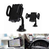 UNIVERSAL IN CAR MOBILE PHONE SAT NAV PDA GPS HOLDER & LOCKING SUCTION MOUNT