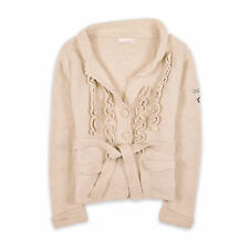 Odd Molly SEÑORA CARDIGAN SUÉTER Sweater talla 2 (de38) 506 cordero lana beige 91542