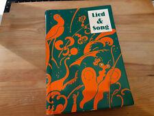Sach Musik Lied & Song : Liederbuch für Schulen (330 s.) VERLAG MAX HIEBER