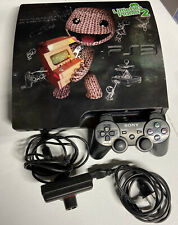 Sony PlayStation 3 PS3 Slim CECH-2501B 320GB w/ 1 Controller P.cord And Camera