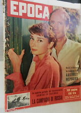 EPOCA 23 giugno 1957 Audrey Hepburn Nencini al Tour de France Polesine Russia di