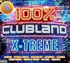 100% CLUBLAND X-TREME BRAND NEW SEALED 4CD BOXSET
