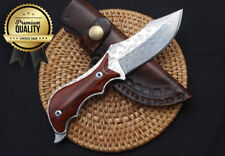 ✅ Handmade HQ Damascus Steel unique knife Collection Survival Hunting EDC Tool