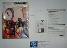 "Microsoft Entertainment Pack 3 Windows computer games 3.5"" discs Original Box!"