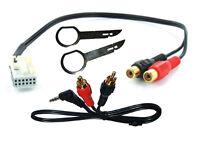 Mercedes W203 C Class AUX cable 3.5mm jack lead Audio 20 CT29MC01 release keys