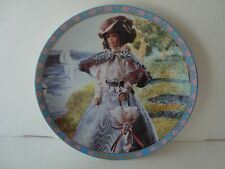 Enesco Barbie Collector Plate.Gibson Girl! Beautiful!