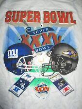 SUPER BOWL XXXV BALTIMORE RAVENS vs NEW YORK GIANTS Tickets (LG) T-Shirt