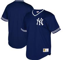 Mitchell & Ness NY Yankees Baseball Jersey New Mens X-SMALL $90