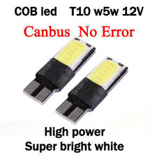 2X T10 W5W 194 168 6W LED Error Free Car Canbus Side Wedge Light Lamp White New