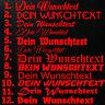 1x WUNSCHTEXT 10cm Breit Aufkleber Auto Domain Cartattox Beschriftung Schriftzug