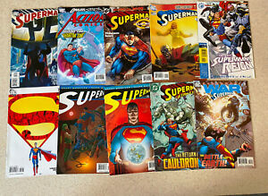 HUGE LOT of 100 SUPERMAN Comic Books - Main Titles -- All Pictured