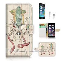( For iPhone 6 Plus / iPhone 6S Plus ) Case Cover P1933 Octopus