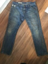 "Mens Gap 1969 34"" Waist 32"" Length  Blue Denim Slim Jeans"