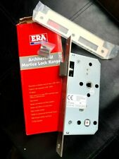 ERA BATHROOM LOCK  MORTICE LOCK RANGE 55MM BACKSET / 78MM BATHROOM!  RRP £44.99