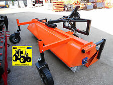 **NEW 2.4 MTR ROAD / YARD / FARM TRACTOR MOUNTED BRUSH C/W BUCKET** VAT INCLUDED