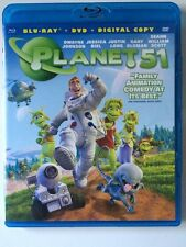 Planet 51 (Blu-ray/DVD, 2010,  NO Digital Copy)  Dwayne Johnson