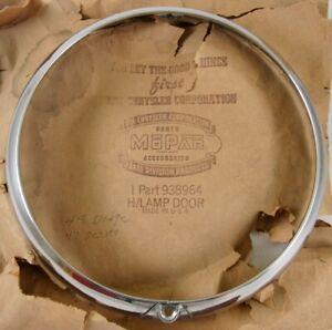 1942 1946 1947 1948 Chrysler Desoto Dodge NOS MOPAR Head Light Lamp Door