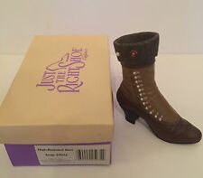 "Just The Right Shoe By Raine ""High Buttoned Boot"" 25034, New"