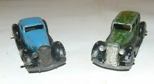DINKY TO RESTORE 36A ARMSTRONG SIDDELEY & 36B BENTLEY