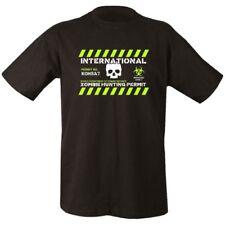 ZOMBIE HUNTING PERMIT T-SHIRT 100% COTTON MENS S-2XL GAMING MENS CLOTHING