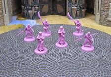6 Lotus clan minis Rising Sun CMoN Kickstarter D&D RPG core reaper samurai ninja