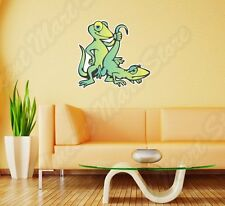 "Gecko Lizard Sex Adult Funny Wall Sticker Room Interior Decor 22""X22"""